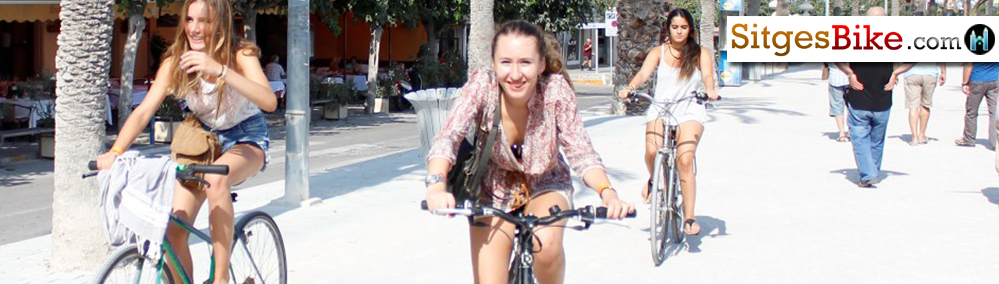 Sitges, Bike Bikes Bicycles Bici Bicis Rent Hire