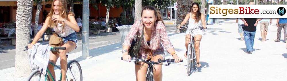 Sitges, Bike Bikes Bicycles Bici Bicis Rent Hire